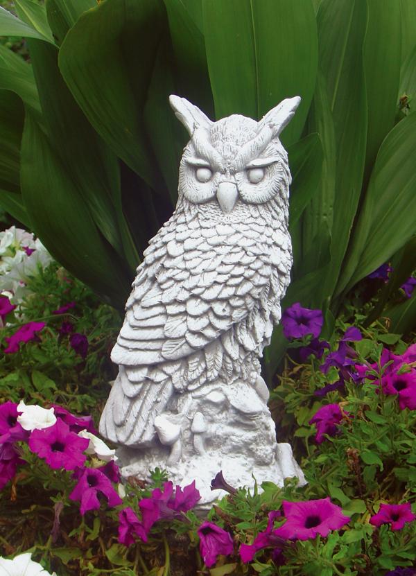 Animali da giardino ornamentali in cemento bianco te468 dg for Animali da giardino