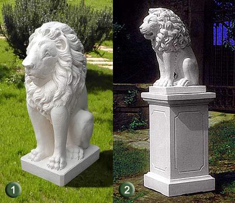 1561 1251 1426 1252 leone in resina vendita animali in resina da giardino da esterno - Statue da giardino in resina ...