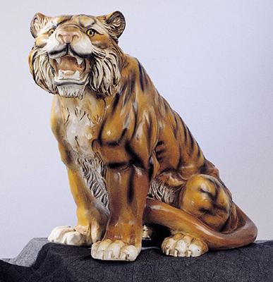 191 nf tigre in resina vendita animali in resina da for Animali da giardino