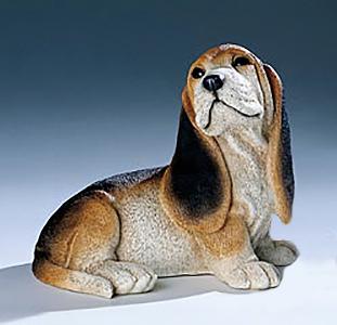 329pn nf cucciolo di bassotto in resina vendita for Animali da giardino