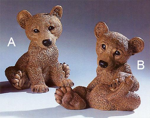 241m nf 242m nf orsetto seduto in resina vendita for Animali da giardino finti