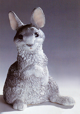 224g nf coniglietto in resina vendita animali in for Animali da giardino
