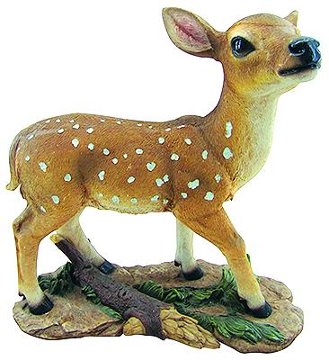 An0077 m bambi in resina vendita animali in resina da for Animali da giardino finti