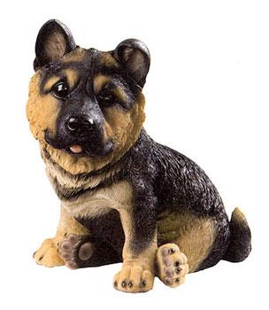 Ha9050n cucciolo di cane lupo o pastore tedesco in for Animali da giardino