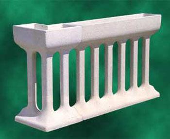 Balaustre in cemento prezzi