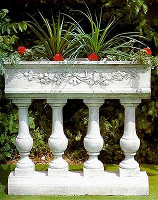 Recinzioni Per Giardino In Cemento.Balaustre Da Giardino Per Recinzioni E Barriere Portafiori In