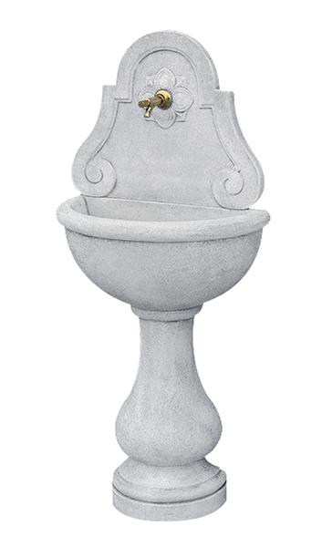 19/i   fontane da giardino a muro in cemento sirmione da esterno e ...