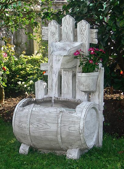 Fontana a muro elba con kit idrico fo2710 ag dg fo2710 bi dg - Fontane a muro da giardino ...