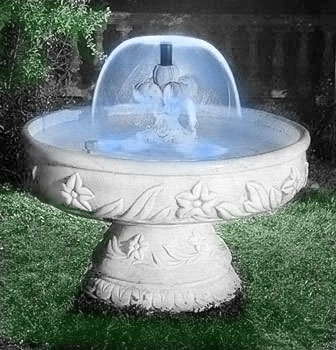 920 i fontana toronto con kit idrico e kit luminoso - Accessori per fontane da giardino ...