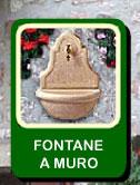 FONTANE DA GIARDINO, FONTANE DA ESTERNO E DA INTERNO, FONTANE IN CEMENTO, FONTANE A MURO ...