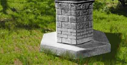 Pozzi in cemento pozzi ornamentali pozzi da esterno for Pozzi finti per giardino