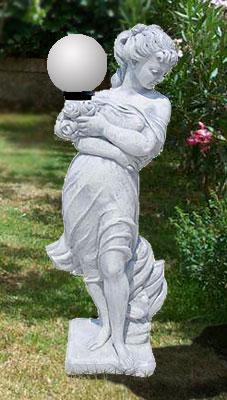 La 259 venere primavera con lampada vendita statue da - Statue giardino ...
