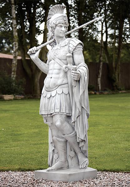 Stg10 statua centurione romano vendita statue da - Statue giardino ...