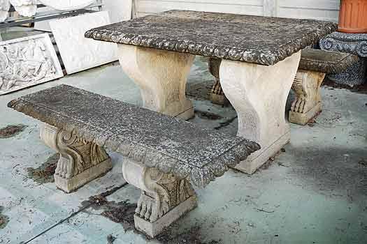 Panchine Da Esterno In Pietra.Tavoli E Panche Da Giardino Da Giardino In Pietra Vendita