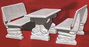 Tavoli Da Giardino In Cemento.Tavoli E Panche In Cemento Da Giardino Per Interno Ed Esterno