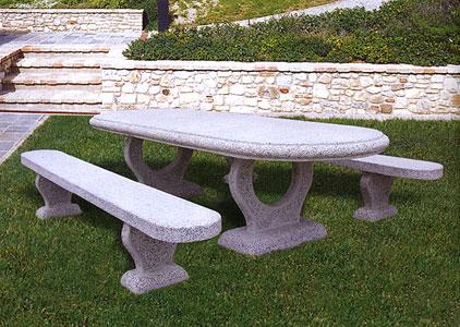 Panche E Tavoli Da Esterno.E Panche In Ed Cemento Per Tavoli Da Giardino Interno Vendita