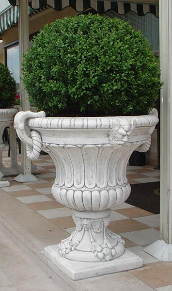 69 s 70 s vaso este vendita vasi in cemento da for Alberelli da vaso per esterno