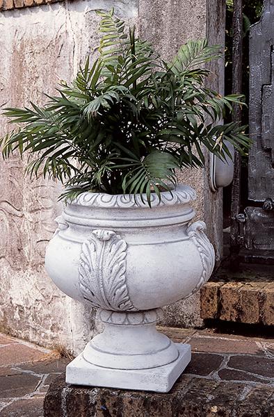 Cool vrdg vaso foglie vendita vasi in cemento da giardino for Vasi decorativi da interno