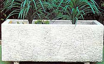 Decorazione Vasi Da Giardino : S s albio rettangolare vendita vasi in cemento da