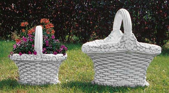 Pozzi Decorativi Da Giardino : Vr dg vr dg cesto ovale vendita vasi in cemento da