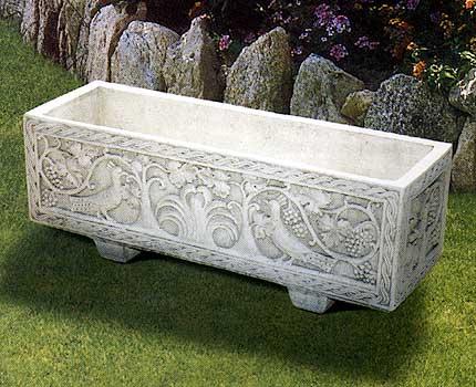 Decorazione Vasi Da Giardino : S cassetta pavoncella vendita vasi in cemento da giardino