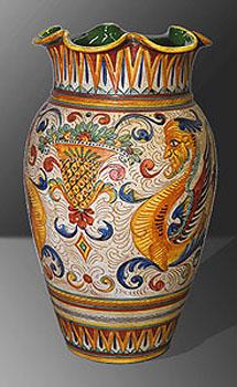 Vasi e anfore decorative in ceramica e porcellana ornamentali da interno e da esterno vendita - Vasi in ceramica da esterno ...