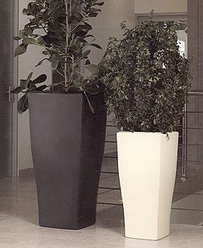 vaso quadrum in resina vasi da giardino moderni e new