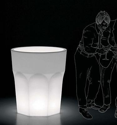 Vaso cubalibre light in resina vasi da giardino moderni e new age vendita - Vasi moderni da interno ...