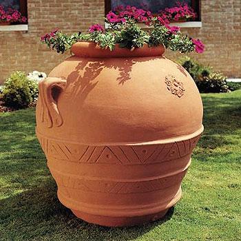 Orcio in resina vasi in resina e in plastica da esterno for Vasi da giardino in plastica