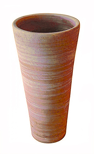 Vaso a cono in terracotta t30009 mr t30008 mr t30004 for Vasi in terracotta on line