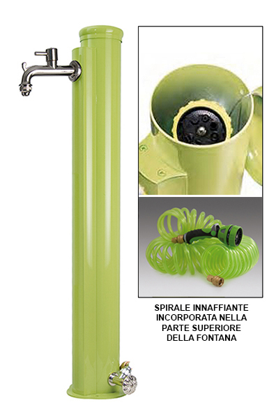 Luc42 arrs bf fontana vedovella in ferro lucrezia da - Rubinetti per fontane da giardino ...