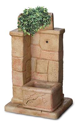 Fontane da giardino vedovella in cemento ilaria da interno for Fontanelle da esterno