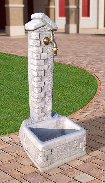 Fontane da giardino vedovella in cemento amalfi da interno for Fontanelle da esterno