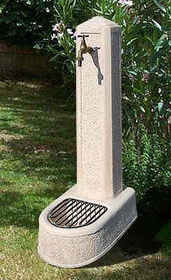 Fontane da giardino vedovella in cemento obelisco da - Fontane da giardino in ghisa ...